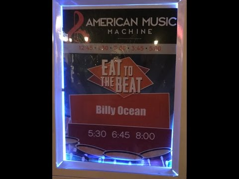 2016-10-27 - Billy Ocean live from Epcot - Eat to the Beat