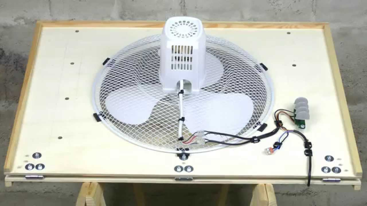 Attic Whole House Fan Dachboden HausVentilator DIY