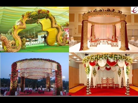 Indian Traditional Wedding Mandap Decorations Youtube