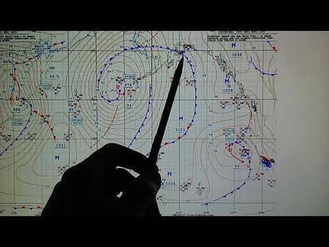 12-4-2018; 1002mb Gale Moves Toward Southern CA; Satellite Transmitter Evaporating Jet Stream!