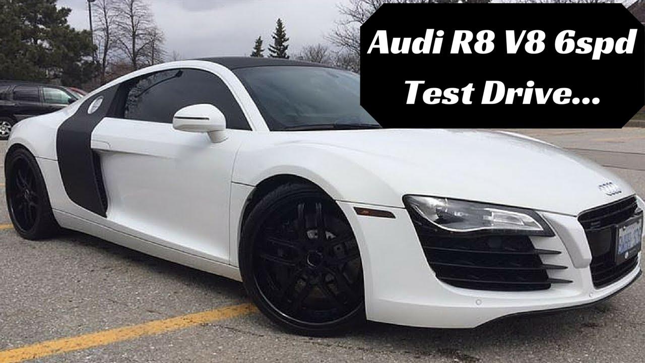 So I Test Drove a Audi R8 V8 Manual... - YouTube