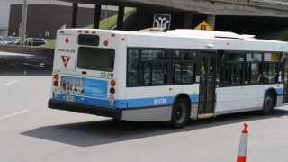 MONTREAL CITY BUSES / STREET CLEANER / VOLVO SEMI
