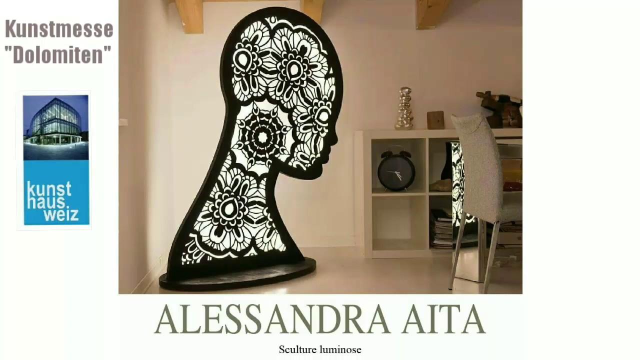 """Alessandra Aita kunstmesse """"dolomiten"""" dal 10 maggio al 3 giugno al"""