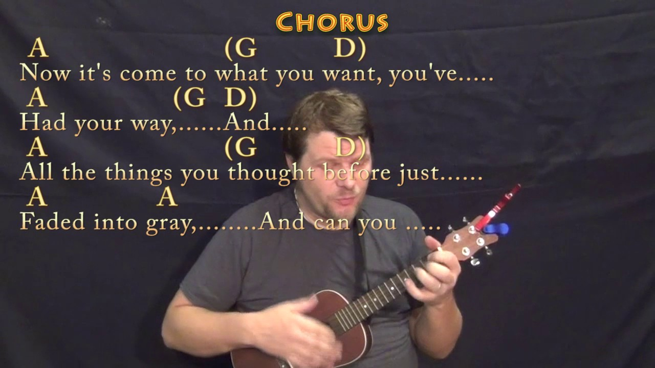 Amie Pure Prairie League Ukulele Cover Lesson In A With Chords