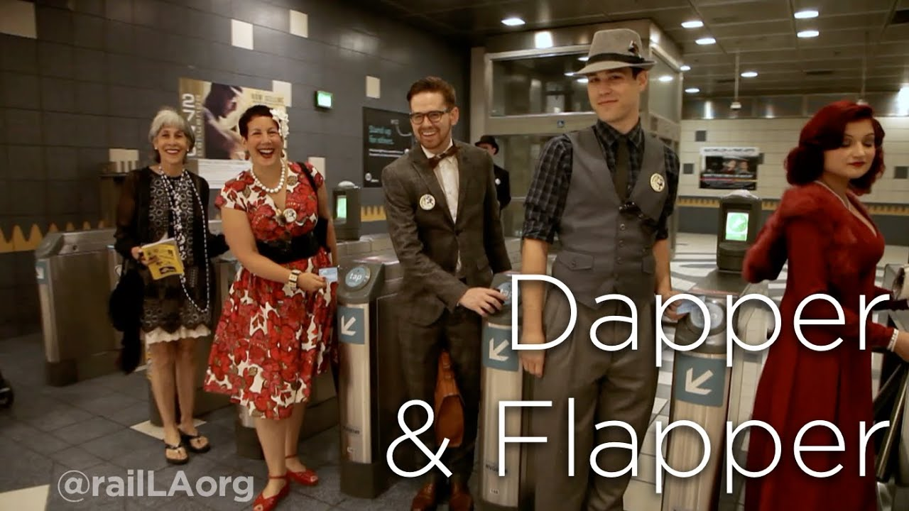 Dapper & Flapper: A New Tour of Old Hollywood Presented by railLA