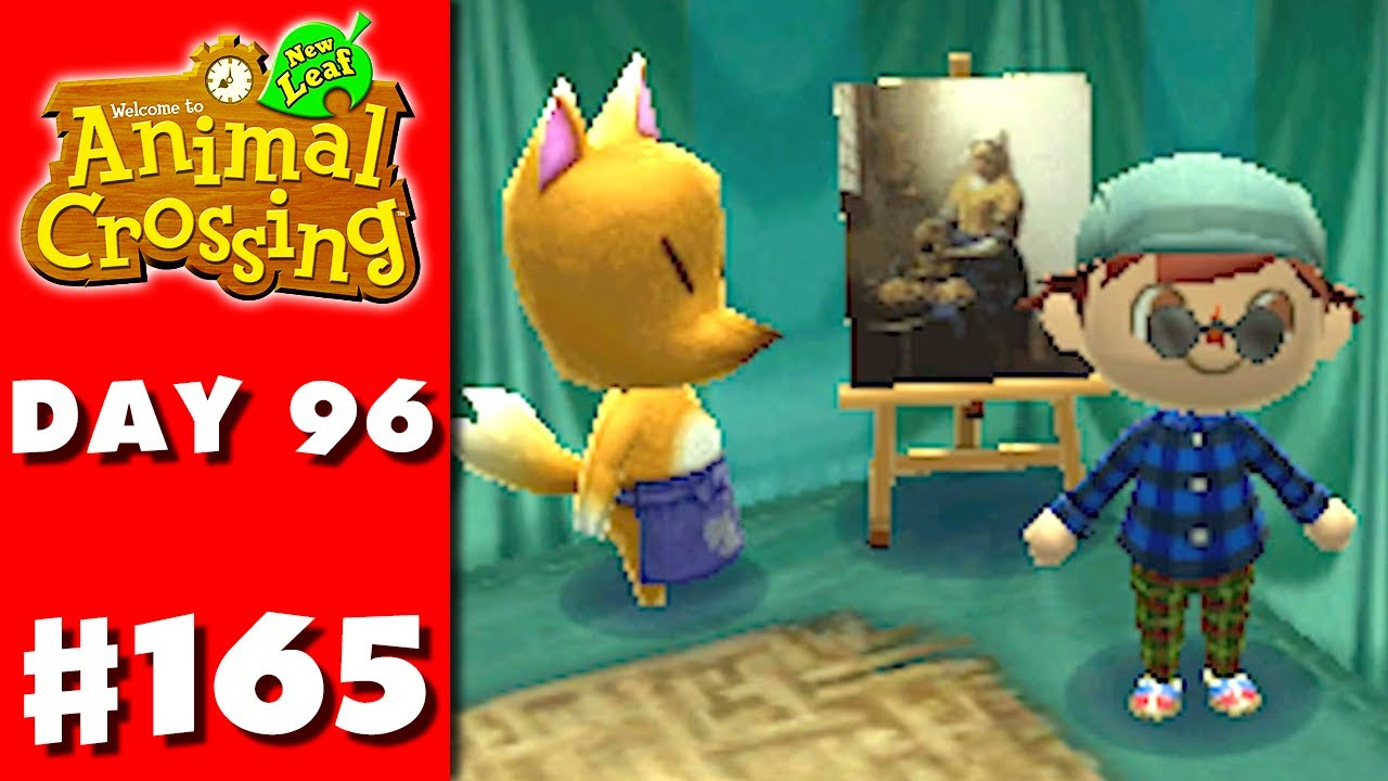 Animal crossing new leaf part 165 quaint painting for Animal crossing mural