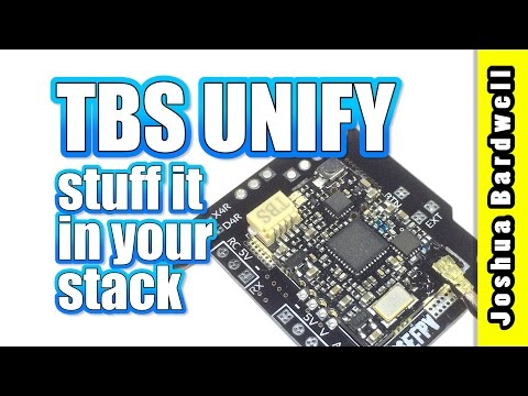 THE BEST WAY to mount your TBS Unify and FrSky Receiver | WHITENOISE FPV from YouTube · Duration:  10 minutes 45 seconds