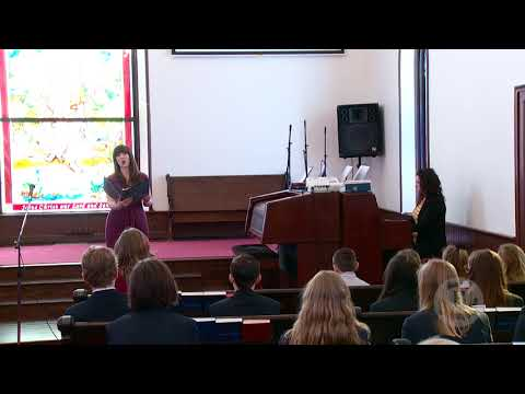 Classical Vocal Performace - Belmont Classical Academy Devotionals
