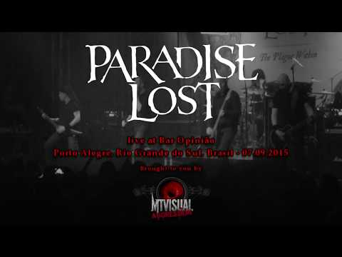 PARADISE LOST - Live at Bar Opinião - Porto Alegre [2015] [FULL SET]