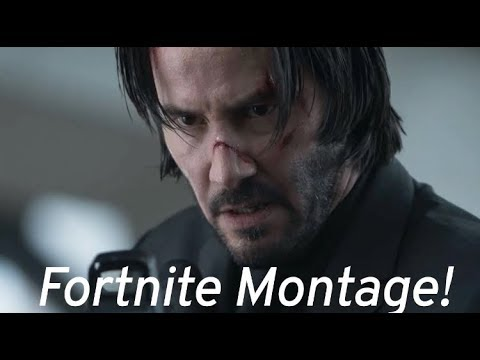 JOHN WICK MONTAGE (Fortnite BattleRoyale) w/soundtrack