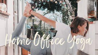 15 Minuten (Home) Office Yoga mit @hanassoul