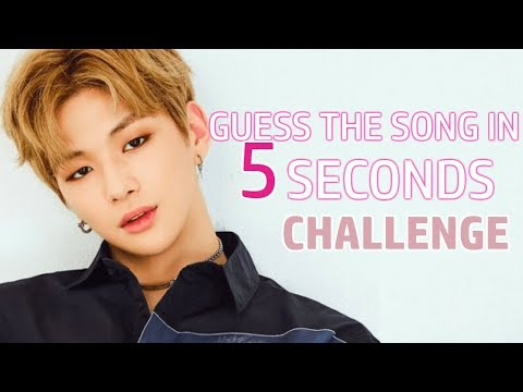 GUESS THE KPOP SONG IN 5 SECONDS   EASY 2018
