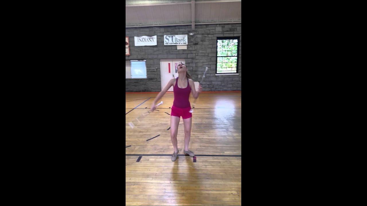 how to do baton tricks