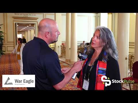 War Eagle Mining Catalyst Clip With President And CEO Danièle Spethmann At Sprott 2018