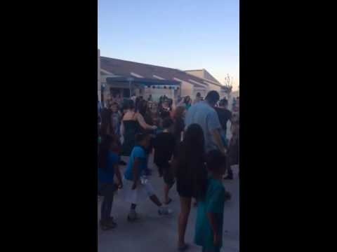 Tuscany Hills Elementary School Dancing with DJ 2