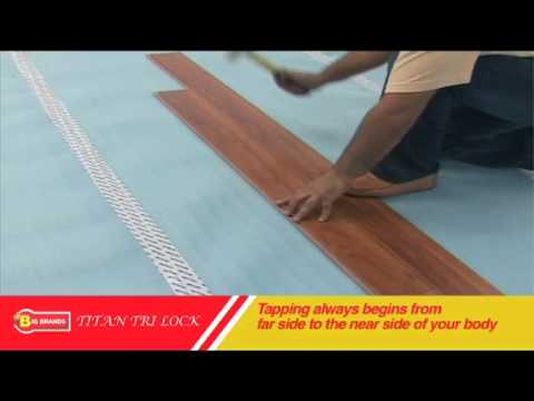 Laminate Floor Titan Tri Lock Big Brands