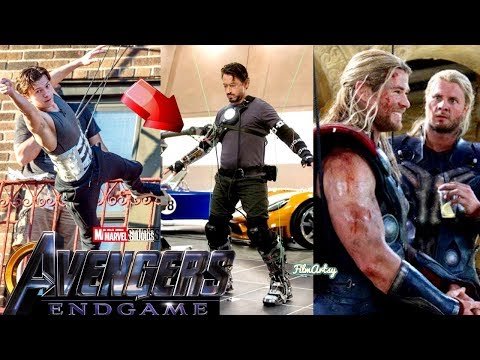 Avengers: Infinity War Cast Stunt Performances With Out Stunt Doubles - 2018
