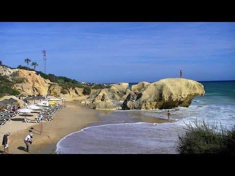 Praia Da Gale Albufeira Portugal (HD)