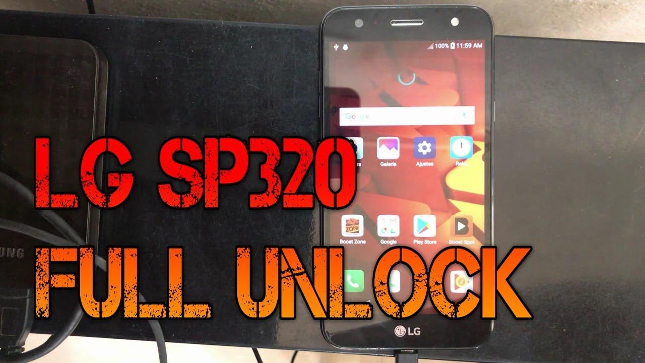 Desbloqueo completo LG SP320 usando Z3X u Octoplus