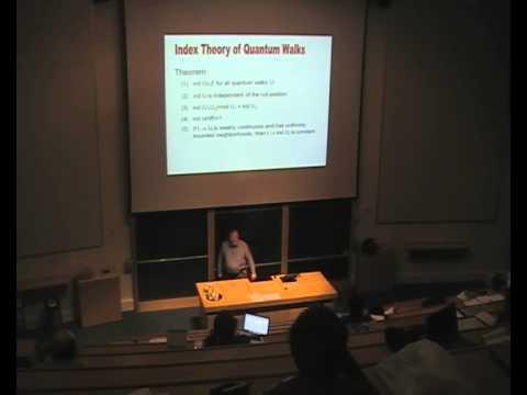 """Reinhard Werner: """"Quantum cellular automata 2"""""""