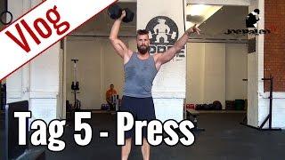 Tag 5 - Schulter-Training | Vlog 10-Wochen-Diät