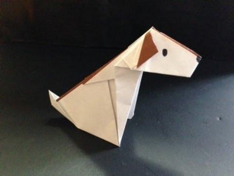 ハート 折り紙 折り紙 犬 簡単 : youtube.com