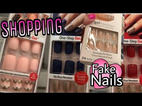 Fake Nails Shopping at Target