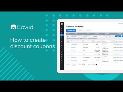 How To Create Discount Coupons