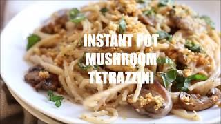 INSTANT POT MUSHROOM TETRAZZINI  Vegan Richa Recipes