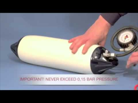 How to Inflate Polyform Boat Fenders Using Adaptor