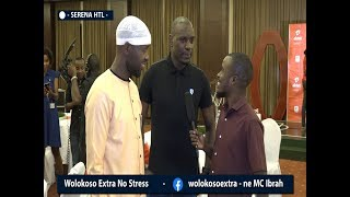 #freshdaddy -MC IBRAH chats With Eddy Kenzo and Denis Onyango after #AFCON2019 #CRANESDINNER