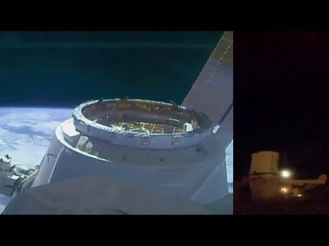SpaceX CRS-16: Dragon berthing