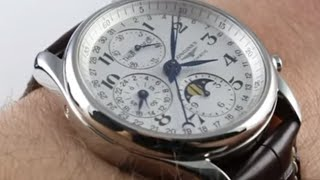 Видео Longines Master Collection Complete Calendar L2.773.4.78.3 Luxury Watch Review (автор: WatchBox Reviews)