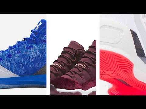 """Air Jordan 11 """"Heiress"""", Under Armour Curry 3 """"Blue Steel"""" more on Heat Check"""