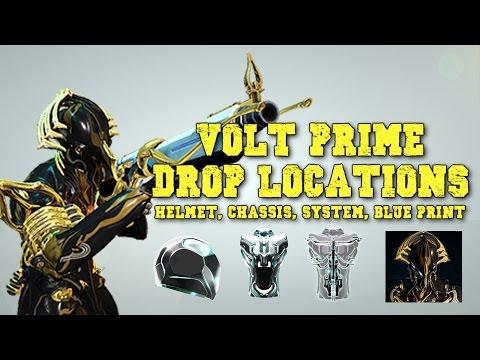 Warframe Update 16 1 Volt Prime Drop Locations By Originalwickedfun