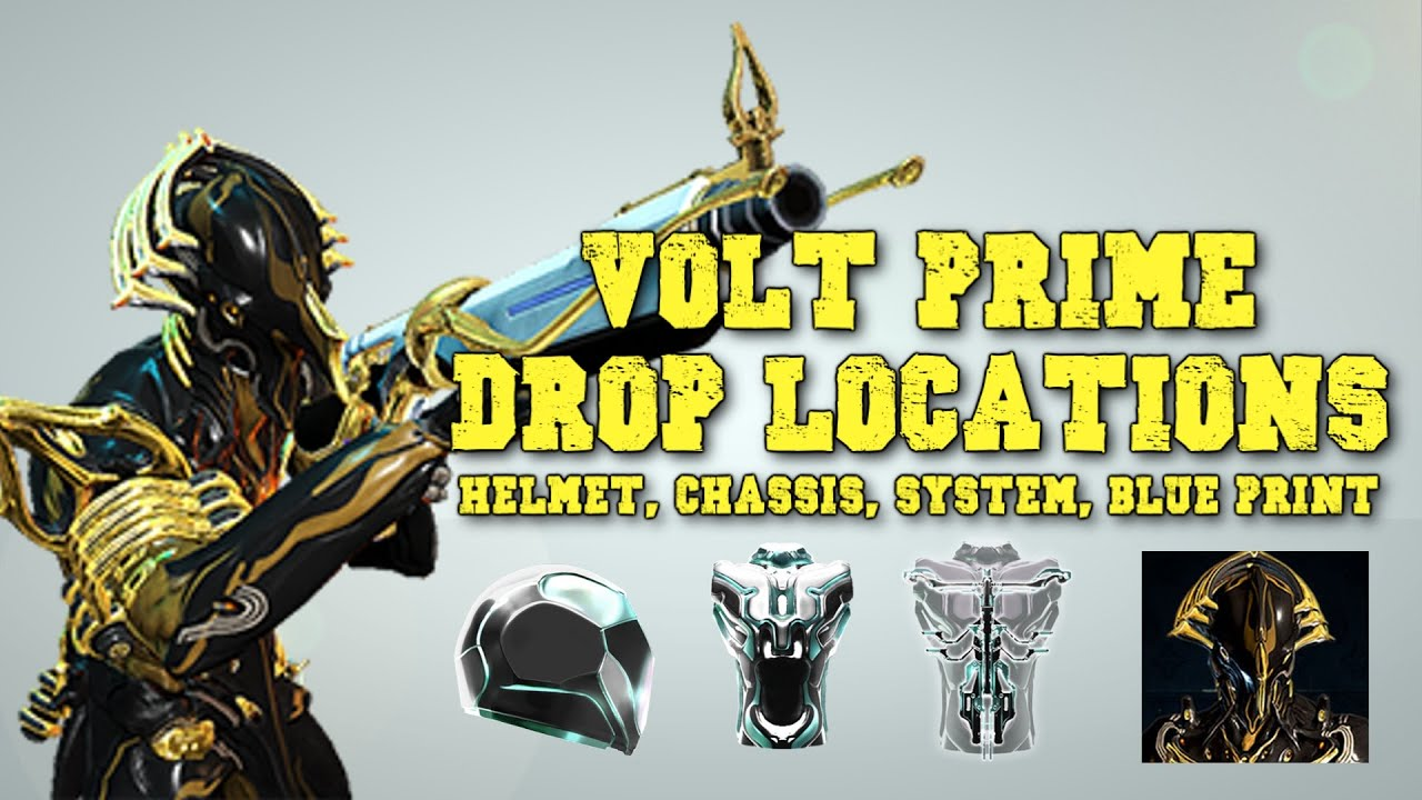 volt prime drop locations helmet chassis system. Black Bedroom Furniture Sets. Home Design Ideas