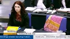 Stuhlreservierung im Bundestag