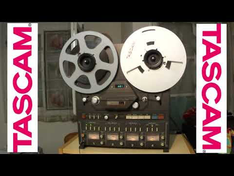 Italo Disco Mix Tascam 34B Reel To Reel Analog Cutting Part 1 (Outtakes)   HD 720p