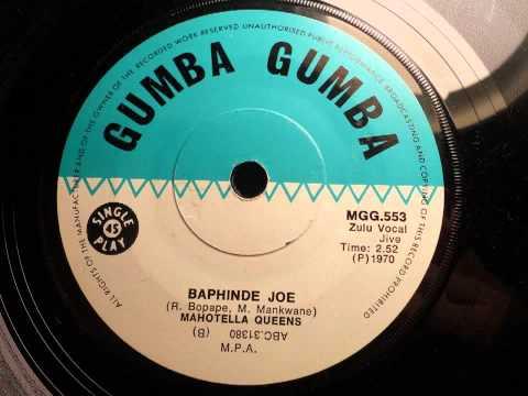Mahotella Queens - Baphinde Joe (Zulu Vocal Jive) (Gumba Gumba 553)