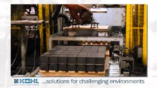 KÖHL: Robot system solutions for challenging environments