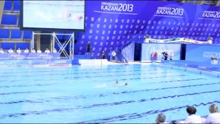 Синхронное плавание - выступление русских спортсменок - Универсиада Казань 2013