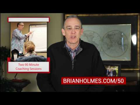 WEEK 5 Prize: A $1000 Premium Coaching Package with Brian Holmes
