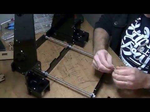 Building 3D printer Hesine M505