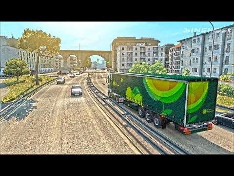 Italia DLC // Palermo to Napoli [ETS2]