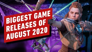 The Biggest Game Releases of August 2020