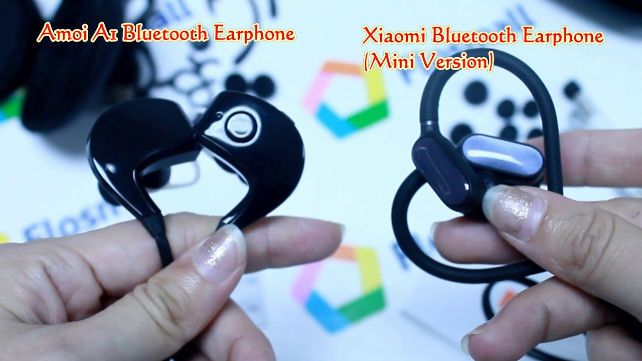 e410ec3c912 Xiaomi Bluetooth Sport Earphone(Mini Version) VS Amoi A1 Bluetooth Sports  Ear
