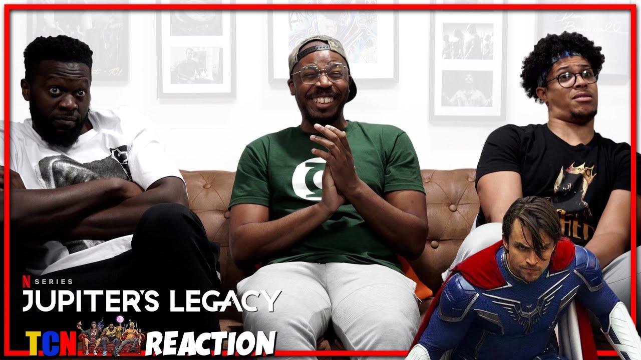 Download Jupiters Legacy Official Trailer Reaction