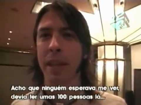 Dave Grohl fala sobre o Brasil (2001)