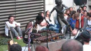 Download Kimi Djabaté at Chiado Museum, Lisbon, Portugal MP3 song and Music Video