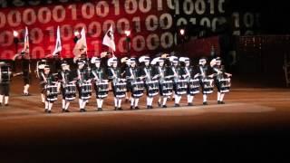 Top Secret Drum Corps at The Royal Edinburgh Military Tattoo 2012